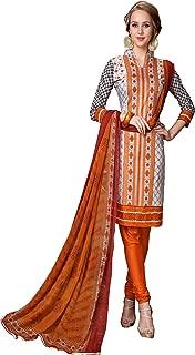 Minu salwar Cotton Printed Suit sets Multi(Mannat_1013_0)