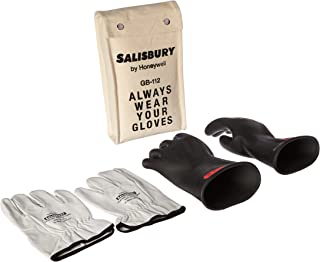 Salisbury 8643517 by Honeywell GK011B10 Insulated Glove Kit, Class 0, Black, 11