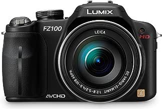 Panasonic Lumix DMC-FZ100 14.1 MP Digital Camera with 24x Optical Image Stabilized Zoom and 3.0-Inch LCD - Black (Renewed)