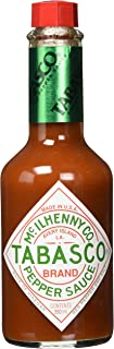 Tabasco Pepper Sauce - 350 ml / 0,35 Liter Glasflasche - original - 100% natürliche Zutaten - scharfe Chili-Sauce