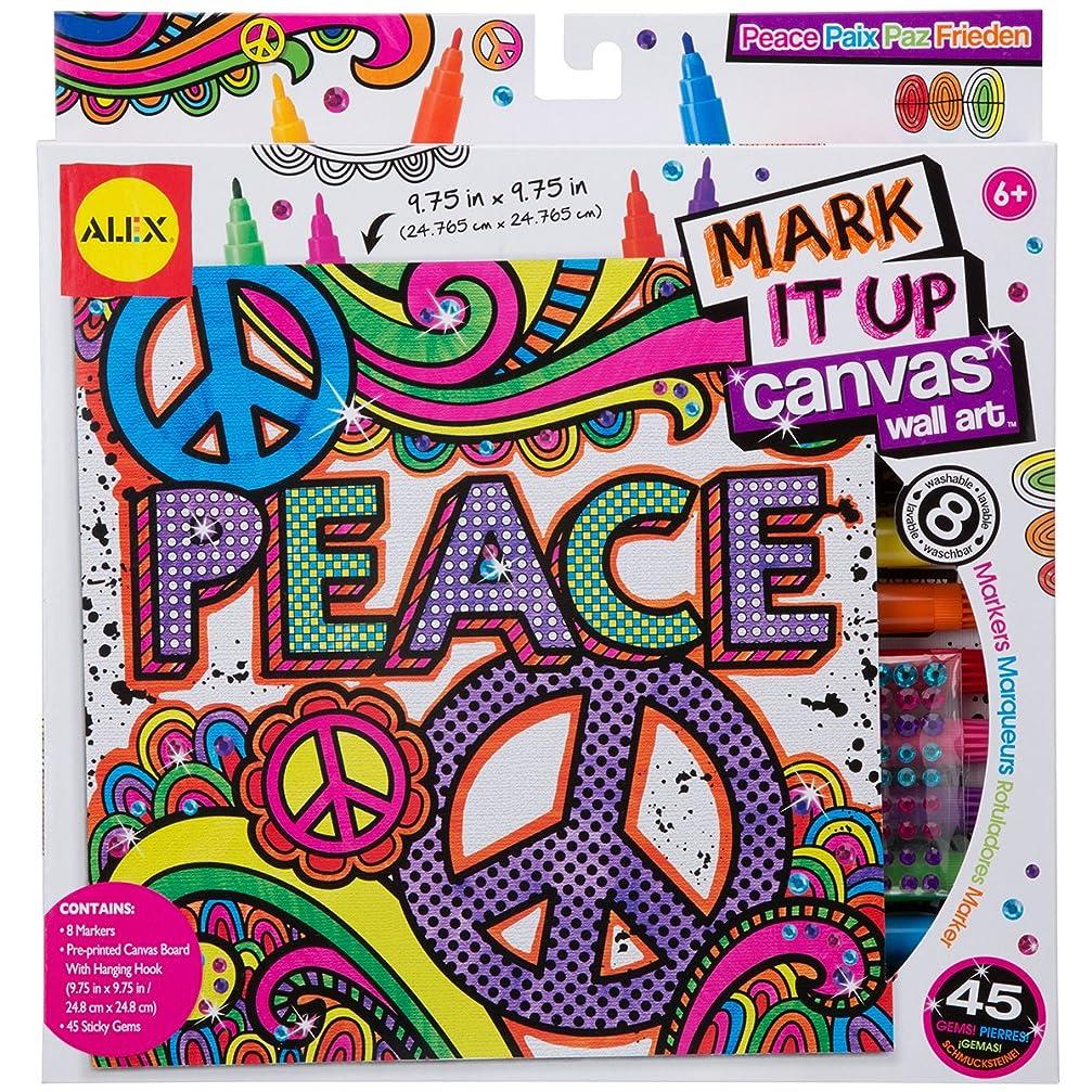 みなさん狂った虫Alex Toys Artist Studio Peace Mark It Upキャンバス壁アート