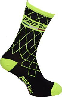 bd3564dd6 Calze Calzini Ciclismo PROLINE Team Giallo Fluo Cycling Socks 1 Paio One  Size New Line