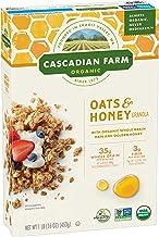 Cascadian Farm Organic Granola, Oats and Honey Cereal, 16 oz