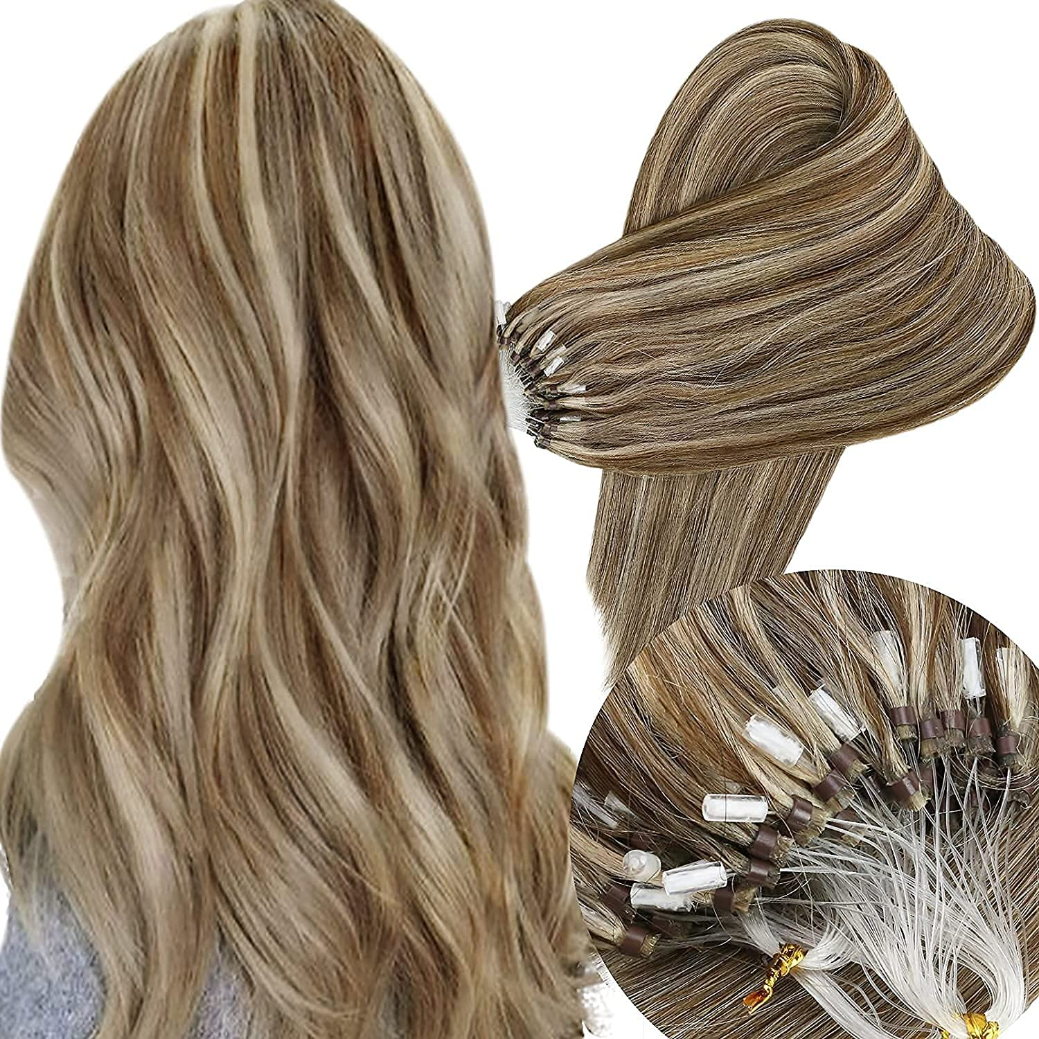 Ranking Special Campaign TOP4 Sunny 24inch Micro Loop Hair Blonde Color Extensions Human