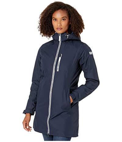 Helly Hansen Long Belfast Winter Jacket (Navy) Women