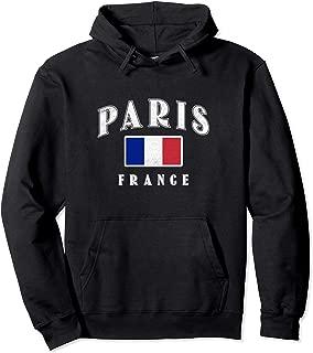Vintage Paris France Hoodie French Souvenir Travel Tour