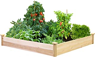 Best Value Cedar Raised Garden Bed Planter 48