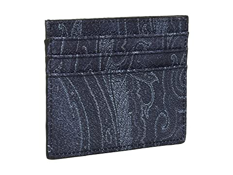 Etro Holder Etro Navy Card Shark Shark Wz8xwPTa8q