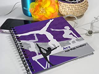 Personalized Girls Gymnastics Scorebook