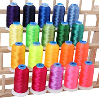 Best lime green embroidery thread Reviews
