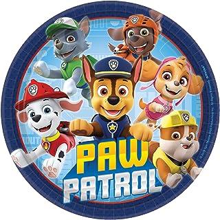 "Paw Patrol Adventures 7"" Plates 8 Count"