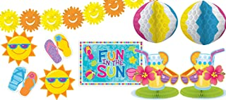 Amscan Fun in the Sun Party Decoration Kit