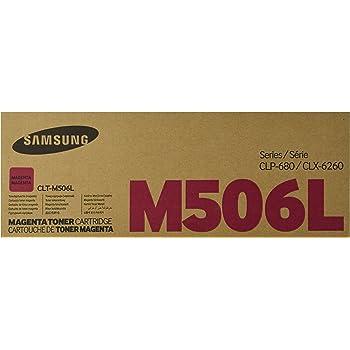 Samsung CLT-M506L Toner Cartridge Magenta, High Yield for CLP-680ND, 6250FD, 6260FR