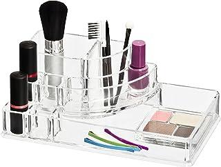 Wenko 20987100 Femme Organisateur de Maquillage 8 Séparations 22 x 12,5 x 8 cm