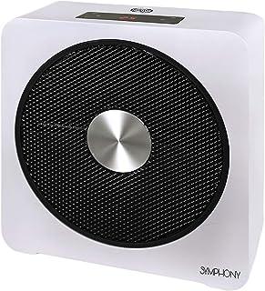 ARGO Symphony calefactor Cerámico, Color blanco/Negro