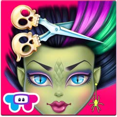 Give these scary cool monsters a hair makeover! Become a monster hairdresser and makeup artist! Tons of spooky styling activities and monsterific makeup items!