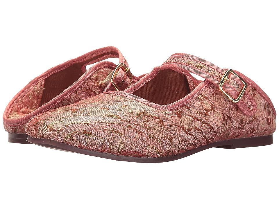 Free People Evie Mary Jane Flat (Pink) Women