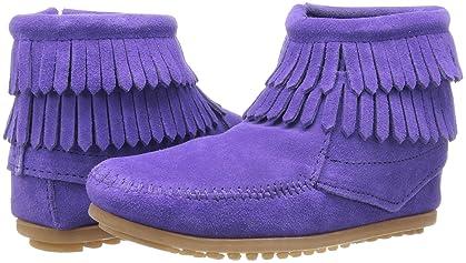 Minnetonka, Boots, Purple, Girls | Shipped Free at Zappos