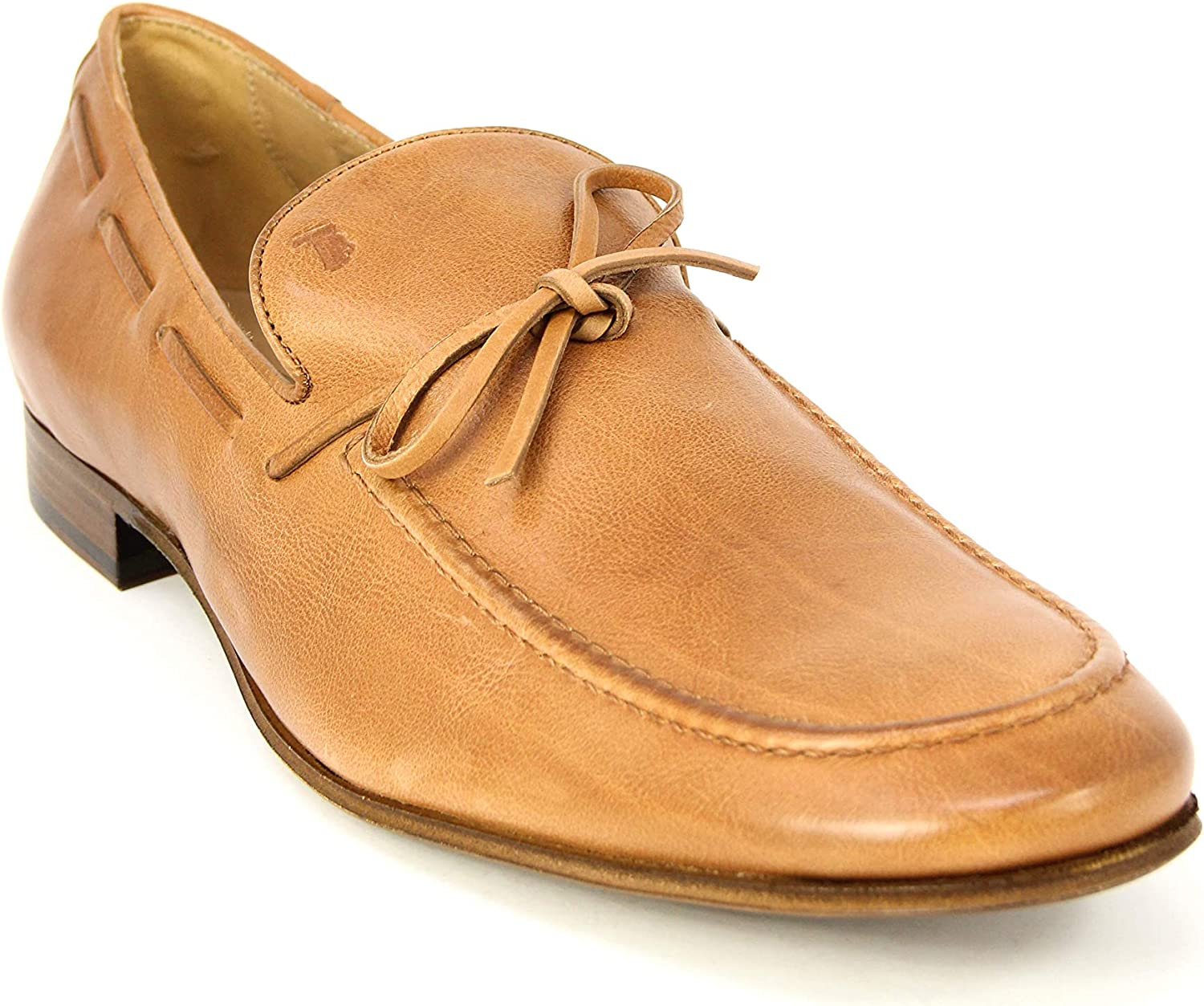 Tod's Men's Cuoio Leather Moccasins Loafers Chicago Store Mall XXM0SV0A390CL1S002