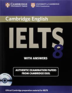 Cambridge IELTS 8 Self-study Pack (Student's Book with Answers and Audio CDs (2)): Official Examination Papers from Univer...