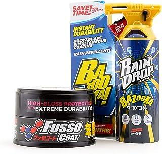 Soft99 Fusso Coat Dark & Bazooka Regentropfen Set