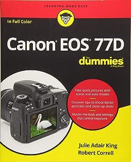 Canon EOS 77D For Dummies (For Dummies (Computer/Tech))