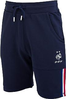 5d1f55035529c Equipe de FRANCE de football Short Molleton FFF - Collection Officielle  Taille Enfant garçon