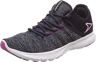 Power Women's Wave Raven Navy and Pink Running Shoes-5 UK (38 EU) (5089197)