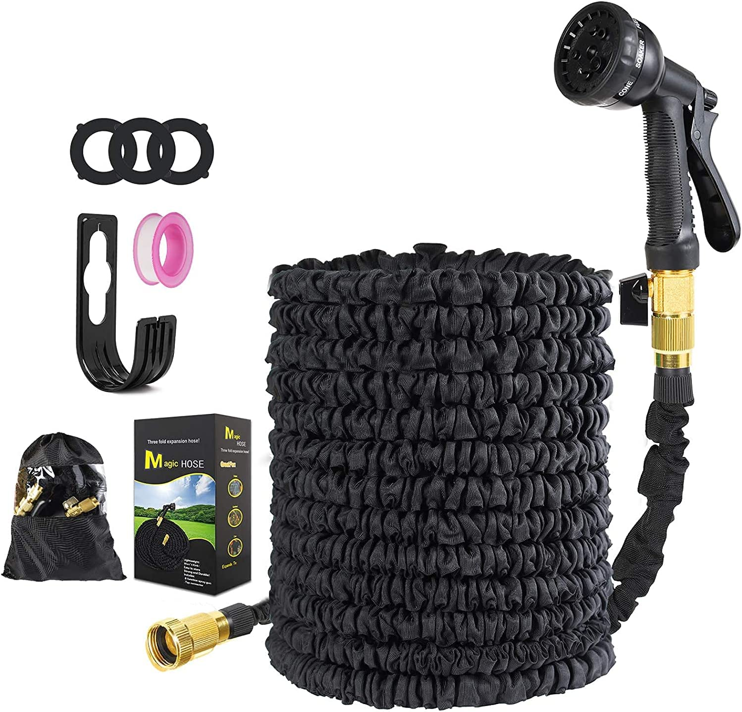 Max 84% OFF Expandable Garden Hose Today's only Kink Free Flexible Lightweight Latex Ant