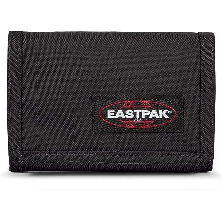Eastpak Crew Single Porte-monnaie, 13 cm, Noir (Black)
