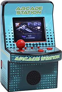 IQ Toys Mini Arcade Station Action Game, with 240 Action, Racing, Adventure, Sports & Puzzle Games