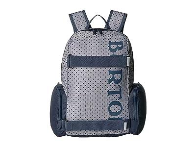 Burton Kids Emphasis (Little Kids/Big Kids) (Wild Dove Polka Dot Print) Day Pack Bags