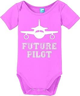 Future Pilot Printed Baby Romper