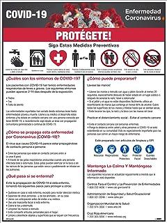 NMC PST141SP Covid-19 Protect Yourself - Póster (24 x 18 cm), color español