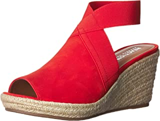 7dd8062d677 Amazon.com: Red Wedge Sandals