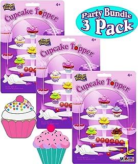 PlayMonster Cupcake Topper Finger Flickin' Handheld Pinball Games Gift Set Party Bundle - 3 Pack