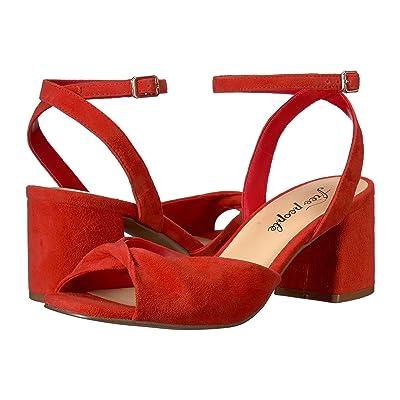 Free People Gisele Black Heel (Red) High Heels
