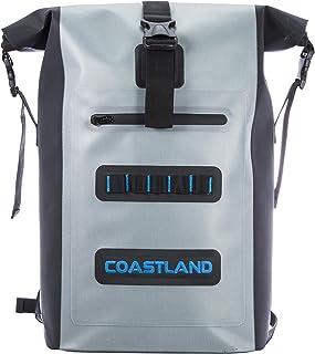 Coastland 30 Liter TPU Waterproof Dry Backpack | Leak Proof, Puncture and Tear Resistant Dry Bag, CS30WPB