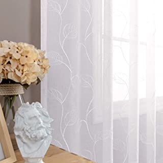 Best sheer curtain panels with designs Reviews