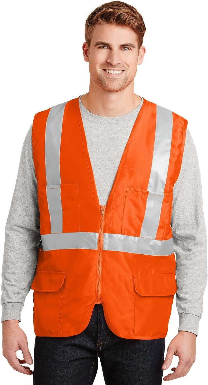 Cornerstone - ANSI 107 Class 2 Mesh Back Safety Vest. CSV405