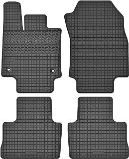 Velour Fußmatten Satz für Toyota RAV4 IV 2012-2019 3-teilig Passgenau Oval Clip