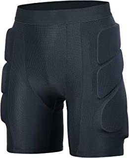 3D Padded Shorts Protective Hip for Ski Skate...