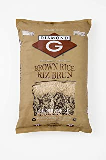 50 lb bag of brown rice