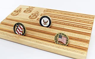 Best navy chief challenge coin display Reviews