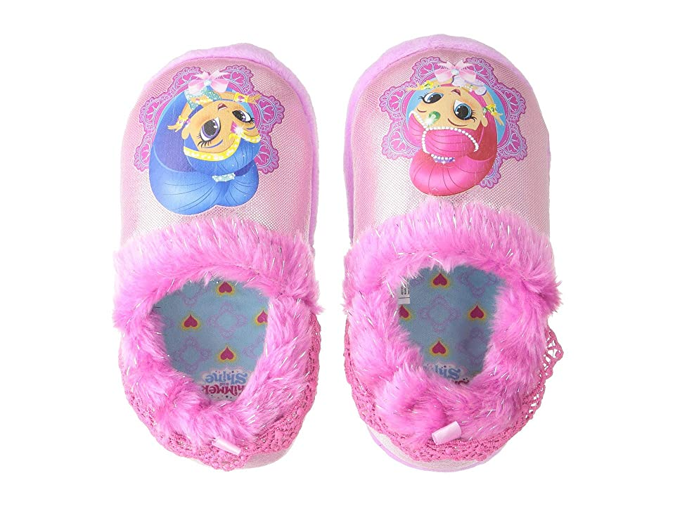 Josmo Kids Shimmer and Shine Slippers (Toddler/Little Kid) (Pink/Blue) Girls Shoes