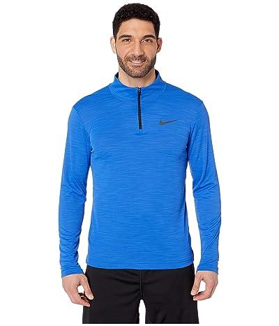 Nike Superset Top Long Sleeve 1/4 Zip (Game Royal/Black) Men