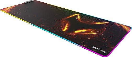 Pro-Glide LED – XXL Speed gaming musmatta   musmatta 800 x 300 mm x 4 mm   XXL musmatta   bordsmatta stor storlek   förbät...