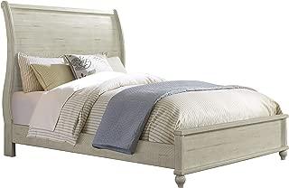 Martin Svensson Home Pine Creek King Sleigh Bed Antique White
