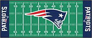 FANMATS NFL New England Patriots Nylon Face Football Field Runner