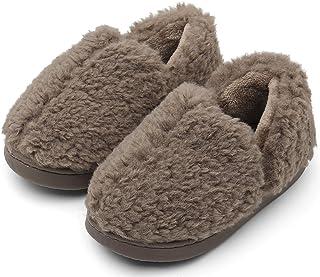 ChayChax Zapatillas de Estar por Casa para Niñas Niños Invierno Zapatos Algodón Bebé Zapatillas Interior Casa Pantuflas, S...